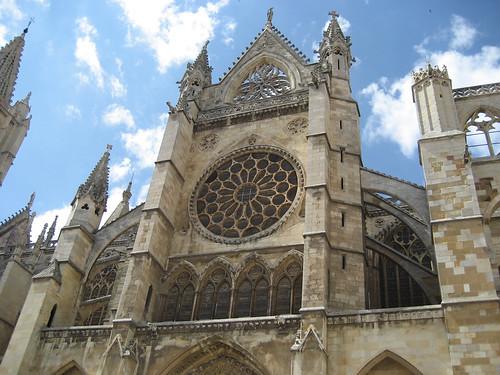 Catedral de León, roseton 3
