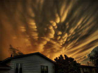 *Interlude* Strange cloud formation | by Michel Filion