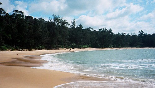Similajau National Park, Golden Beach, Borneo | by paulwhitepics