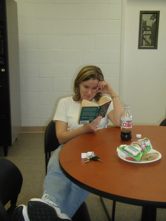Student Reading after Lunch | by California State University Channel Islands