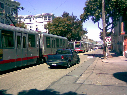 Crowded Intersection at Duboce and Church | by the N Judah chronicles