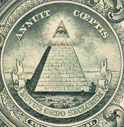 One Dollar Bill Pyramid | by vhauri
