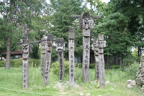Ancient Korean Statues Made To Keep Evil Spirits Away Flickr