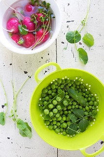 In summer, there are peas.... | by La tartine gourmande