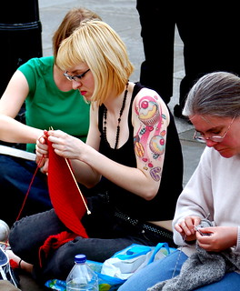 World Wide Knit in Public Day | by Todd Huffman