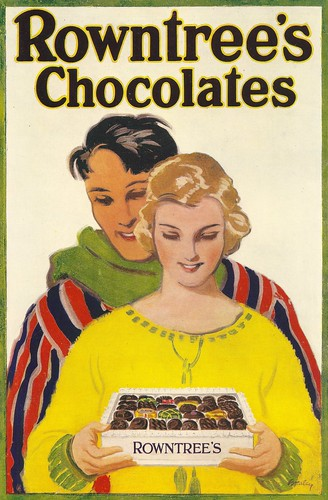 Rowntree's Chocolates advert, 1923 | by mikeyashworth