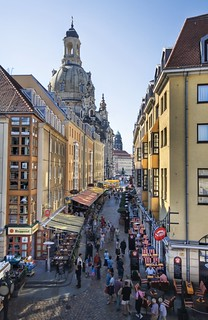 Restaurant Row in Dresden | by Stuck in Customs