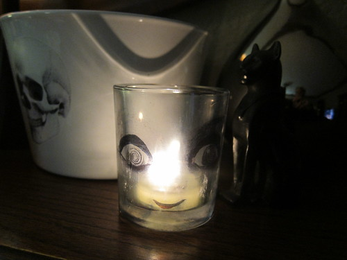 Creepy Doll Candle Varnished | by katbaro