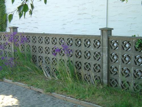 Decorative Concrete Fence Flickr Photo Sharing