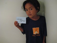Donation from Citizen Agency for Cambodia Bloggers Summit | by cambodia4kidsorg
