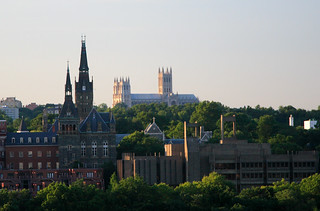 View of Georgetown University, From Virginia | by ehpien