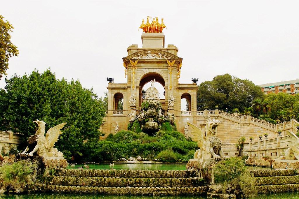 Drawing Dreaming - guia de visita de Barcelona - Parc de la Ciutadella