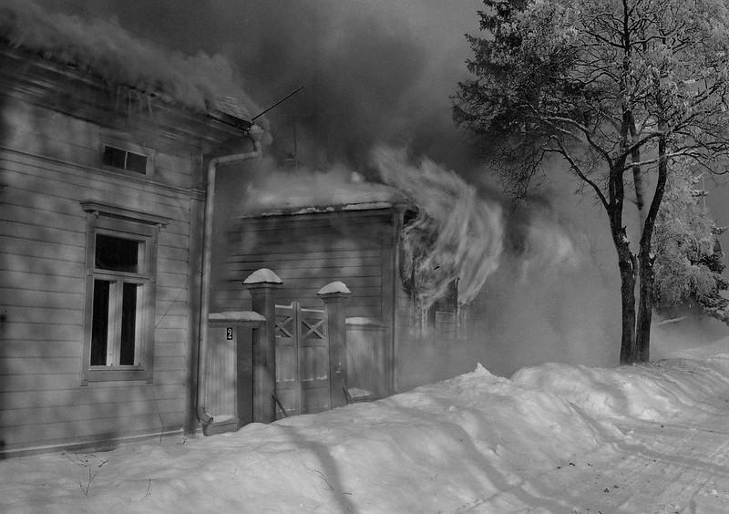 Последствия бомбардировки Сортавала 1940.02.03 07d