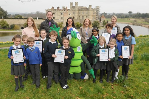 Leeds Castle Walk to School Challenge Winners