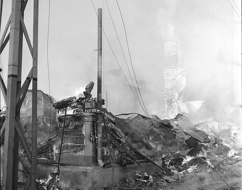 Ущерб от бомбардировки 1940 3 февраля