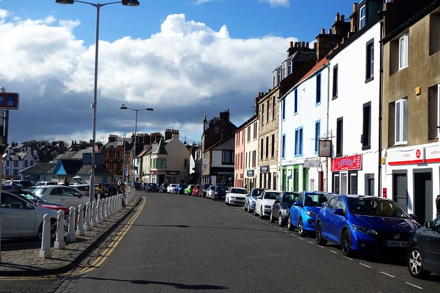 Shore Street, Anstruther, Scotland.