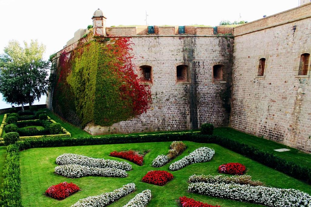 Drawing Dreaming - roteiro para visitar Barcelona - Montjuic - castelo