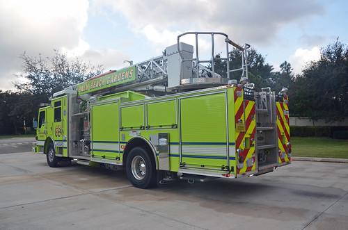 Palm Beach Gardens Fire Rescue Ladder 65 Palm Beach