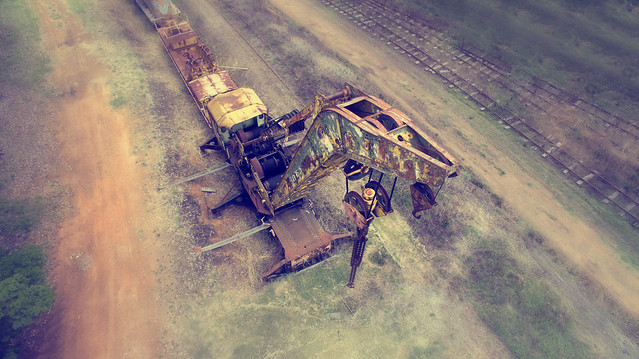 Old crane, Pemberton, Western Australia