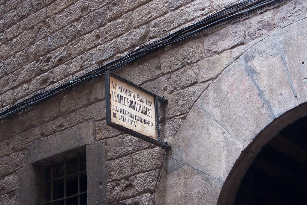 Sortida pel barri Gòtic