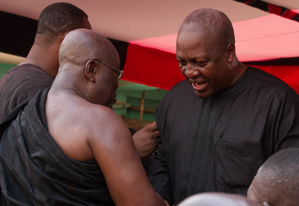 President JD Mahama at Bantamahene's funeral in Kumasi