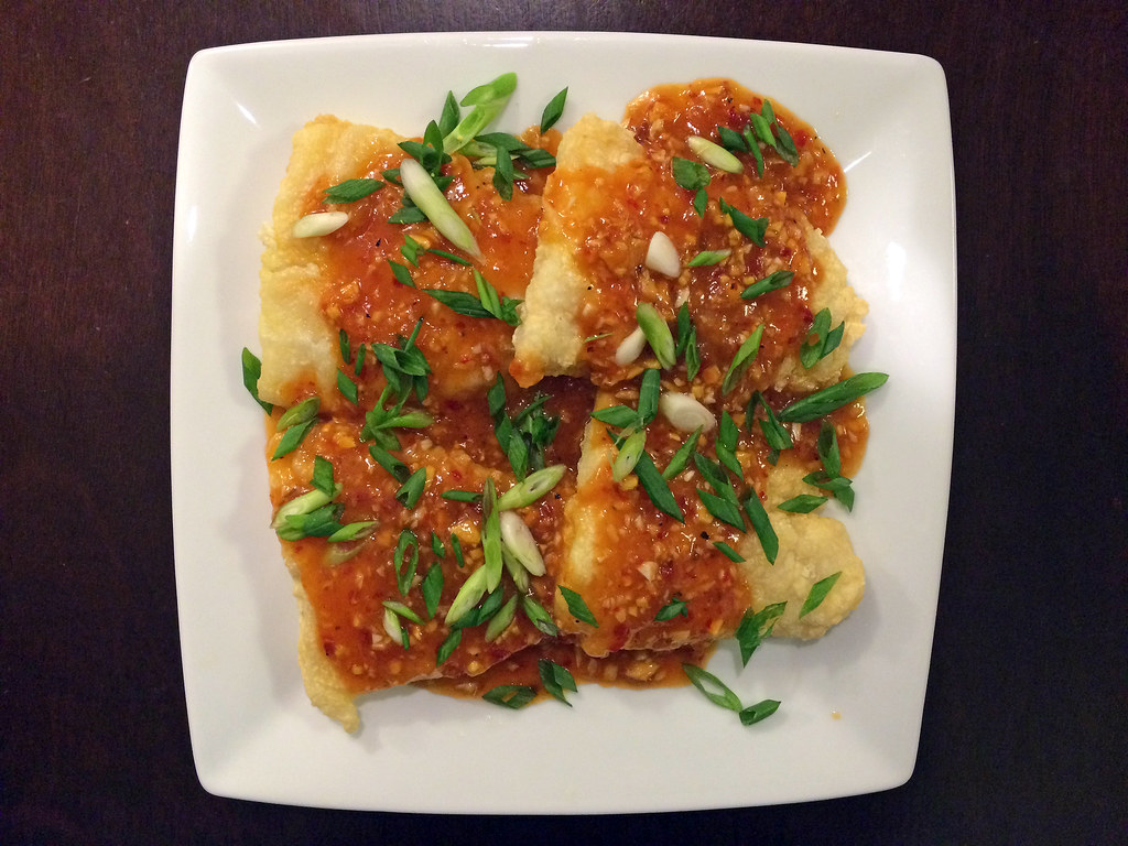 Sweet and spicy fried catfish