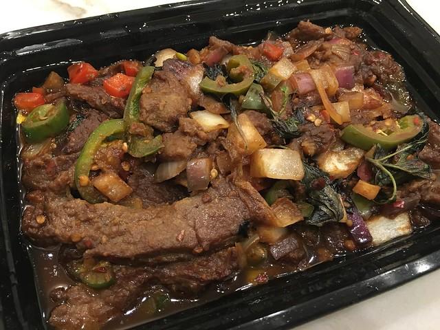 Spicy beef - Tao Yin Restaurant