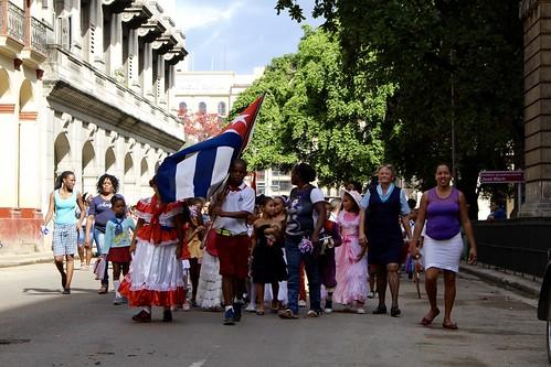 Desfile en honor a José Martí