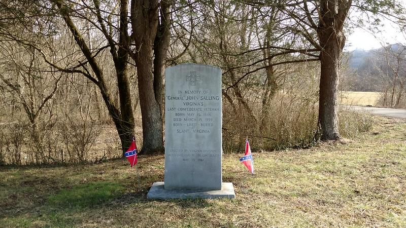 John B. Salling ~ Virginia's Last Confederate Veteran ~ Slant, VA