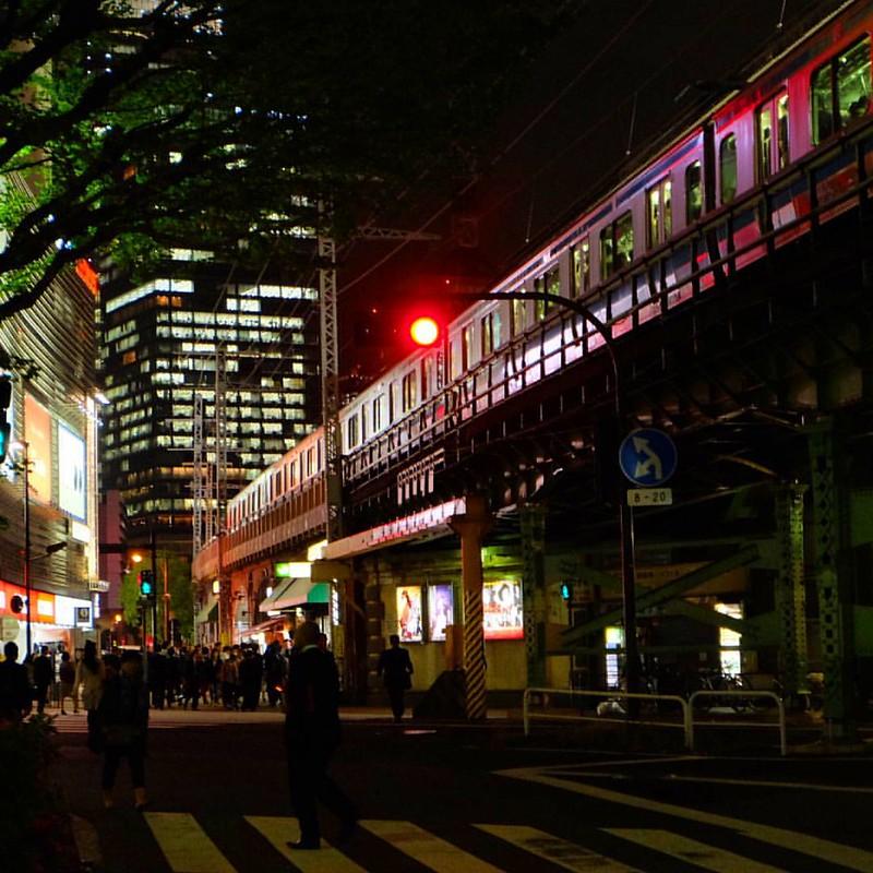 #東京 #夜景 #鉄道 #有楽町 #tokyo #railway #yurakucho #nightview