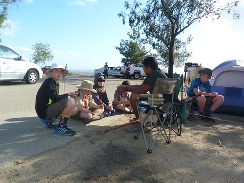 2016-03 Lake Dixon New Scout Camping