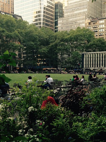Bryant Park. NYC aug2015. Nueva York