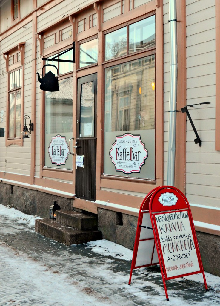 I Want My Coffee As I Want my Town – The Most Authentic Coffee Shop in Old Rauma | Live now – dream later travel blog
