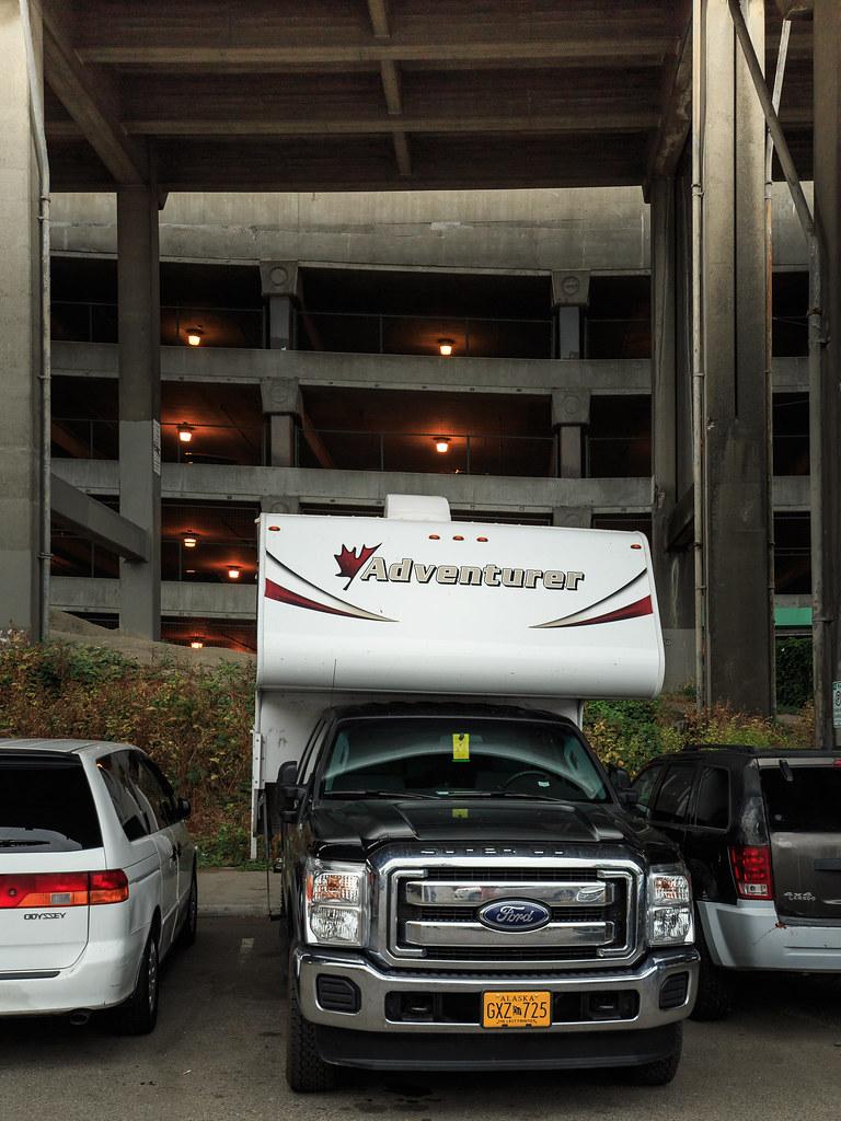 Passend eingeparkt