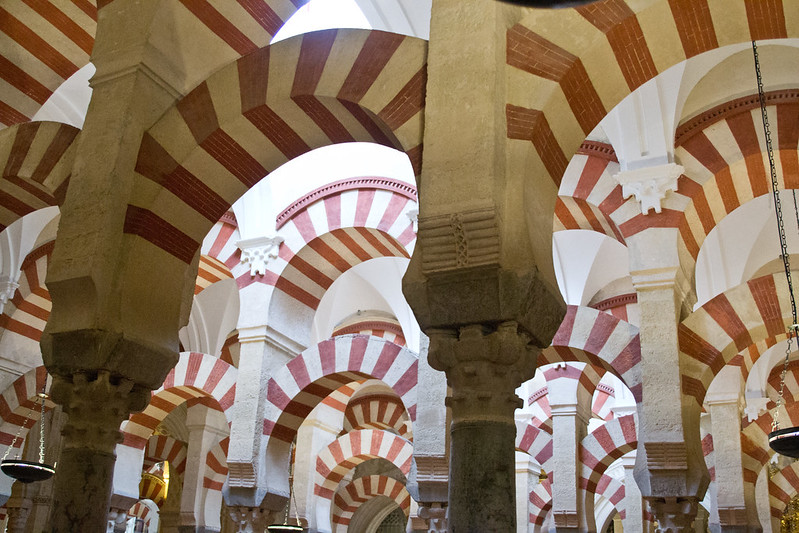 Arches of the Mezquita, Cordoba, Spain | packmeto.com
