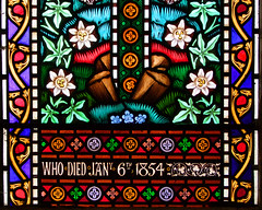 who died Jany 6th, 1854
