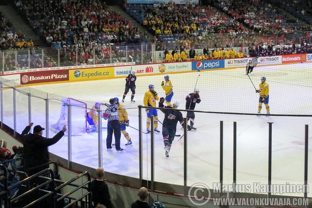 U20 SWE - USA. Valokuvaaja: Markus Kauppinen