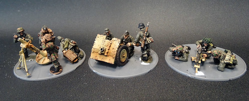 Bolt Action - German Weapon Teams