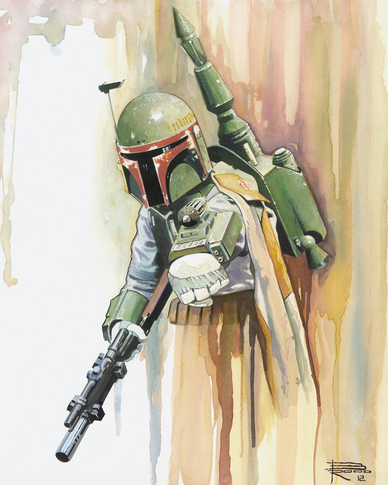 Star Wars Boba Fett by Brian Rood