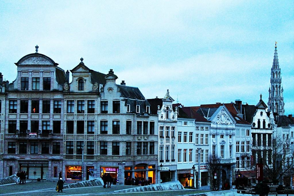 Drawing Dreaming - 48 horas em Bruxelas - o que fazer - Mont des Arts