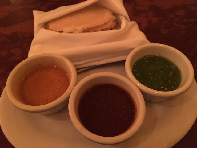 Tortillas with trio of salsa - Colibri Mexican Bistro