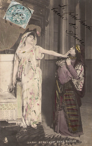 Sarah Bernhardt in Phèdre
