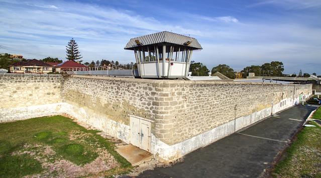 The old convict built Fremantle prison, Western Australia