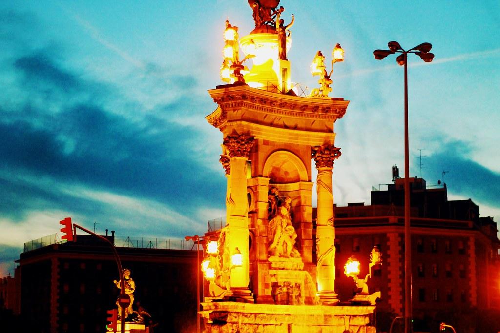 Drawing Dreaming - roteiro para visitar Barcelona - Montjuic - Plaça Espanya