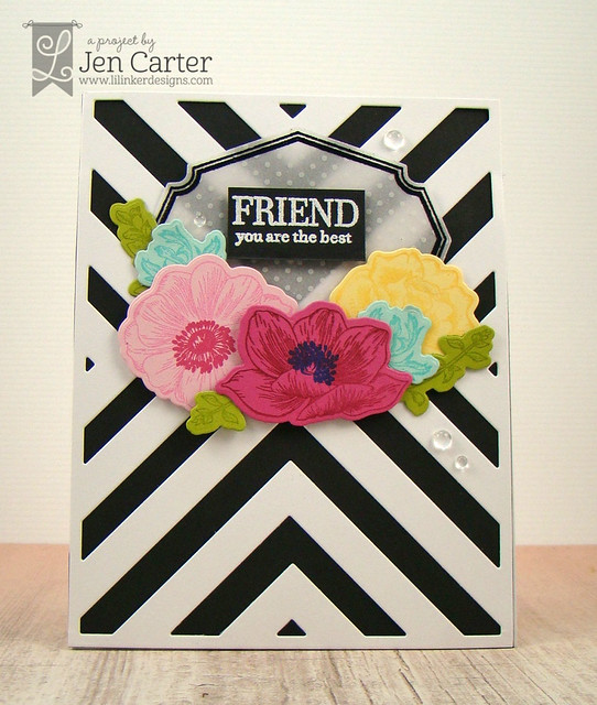 Jen Carter Vintage Flower Frame Friend Front 1 wm