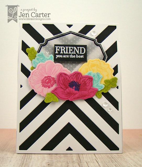Jen Carter Vintage Flower Frame Friend Front 1 wm