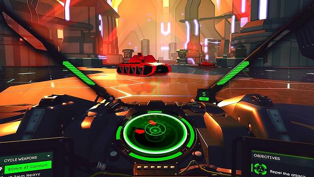 Battlezone on PlayStation VR