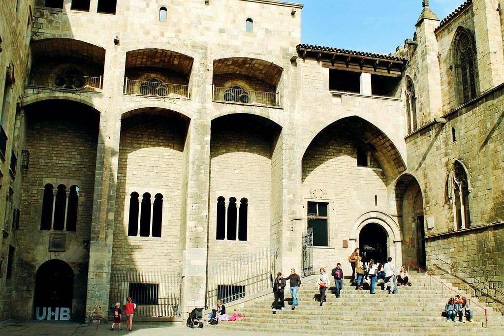 Drawing Dreaming - visitar Barcelona - Plaça del Rei