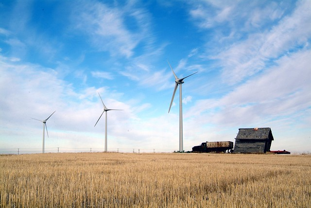 Taber Wind Farm - electricity for Calgary