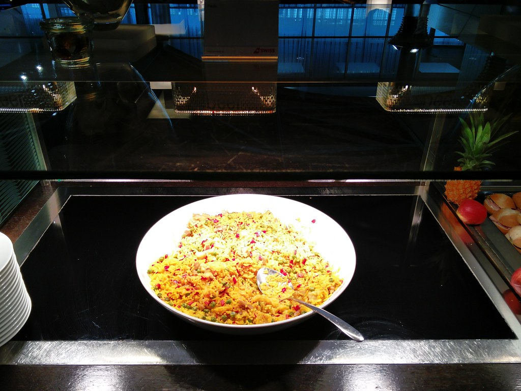 Paella in the lounge